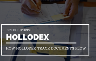 hollodex track documents flow