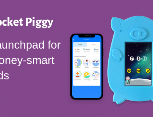Rocket Piggy – teach kids financial literacy